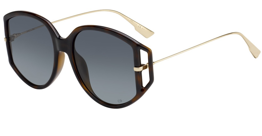 Christian Dior DIORDIRECTION2 086 DARK HAVANA